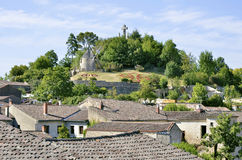 Village of Lautrec in France Stock Image
