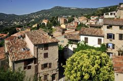 Village of  Le Bar sur Loup in France. Village of  Le Bar sur Loup in southeastern France, department Alpes Maritimes Stock Image