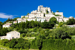 Village of Le Barroux Royalty Free Stock Photography