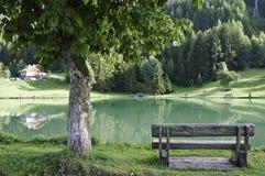 The village of Le Praz, close to the Vanoise NP Royalty Free Stock Photos