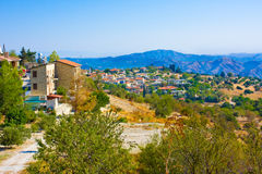 Village Lefkara in Northen Cyprus Royalty Free Stock Photos