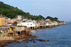 Village of Lei Yue Mun Stock Image