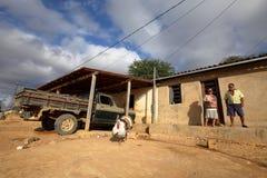 Village life in Brazil in Petrolina royalty free stock photo