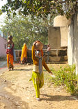 Village life, rural Rajasthan, India Royalty Free Stock Images
