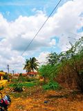 Village life of South India royalty free stock photo