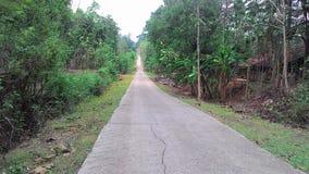 Village Limits road in Sukoharjo district boundaries Stock Photography