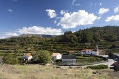 Village of Lindoso Stock Photography