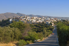 Village of Lithines at Crete island in Greece Royalty Free Stock Image