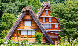 Village located in Gifu Prefecture, Japan. Known for being the site of Shirakawa-go, traditional famous village.  Royalty Free Stock Image