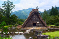 Village located in Gifu Prefecture, Japan. Known for being the site of Shirakawa-go, traditional famous village.  Stock Photos