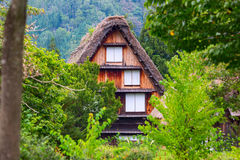 Village located in Gifu Prefecture, Japan. Known for being the site of Shirakawa-go, traditional famous village.  Stock Image