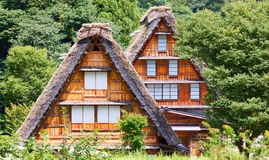 Village located in Gifu Prefecture, Japan. Stock Photography