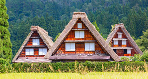 Village located in Gifu Prefecture, Japan. Stock Photo