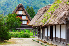 Village located in Gifu Prefecture, Japan. Royalty Free Stock Image