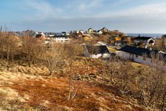 Village A, Lofoten, Norway Stock Photography