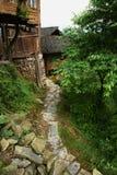 Village in Longji terrace ,Guilin Royalty Free Stock Photography