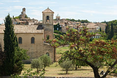 Village of Lourmarin, France Royalty Free Stock Photography