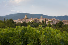Village of Lourmarin, France Stock Image