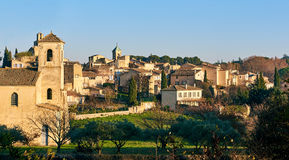 Village of Lourmarin. France Stock Image