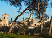 Village of Lourmarin. France. Village of Lourmarin. Listed as the most beautiful villages of France. Provence-Alpes-Cote d`Azur Royalty Free Stock Photos