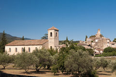 Village of Lourmarin in Provence, France Stock Images