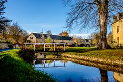 The Village of Lower Slaughter Royalty Free Stock Photo