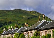 Village of Luss, in Scotland Stock Image