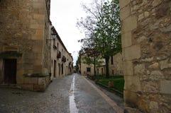 Village médiéval de Pedraza, Espagne photo libre de droits