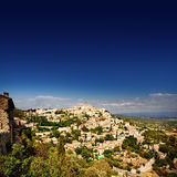 Village médiéval Gordes image stock