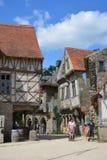 Village médiéval Puy du Fou images libres de droits