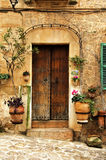 Village méditerranéen Images libres de droits