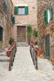 Village méditerranéen rustique chez Majorque, Espagne Photos libres de droits