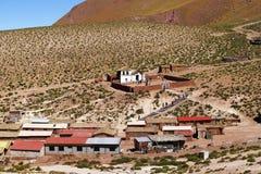 The village of Machuca, Atacama Desert, Chile royalty free stock image