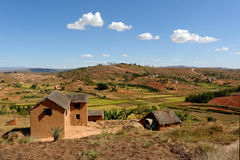 Village in Madagascar Stock Images