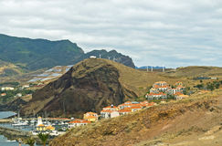 Village on Madeira Island, Portugal. Small Village on the East of Madeira Island, Portugal Royalty Free Stock Photography