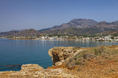 Village of Makrigialos Crete Royalty Free Stock Image