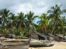 Village malgache Image libre de droits