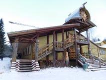 The Village Of Mandrogi, Karelia. Stock Photography