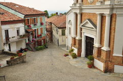 Village of Mango, Langhe, South Piemonte, Italy Stock Photos