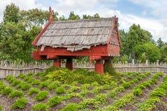 Village maori traditionnel Photographie stock libre de droits