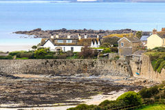 Village of Marazion near St. Michael´s Mount, Cornwall, UK Stock Photo