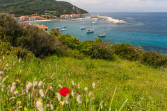 The village of Marciana Marina. Elba island Royalty Free Stock Image