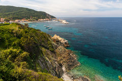 The village of Marciana Marina. Elba island Royalty Free Stock Photos