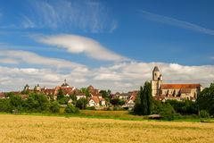 Village martel in France Royalty Free Stock Photo