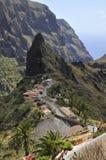 Village of Masca at tenerife Royalty Free Stock Photos