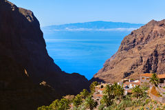 Village Masca at Tenerife island - Canary Stock Images
