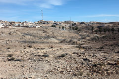 Village of Matmata in Southern Tunisia in Africa Royalty Free Stock Photo