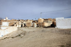 Village of Matmata in Southern Tunisia in Africa Stock Photos