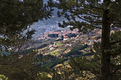 Village of Metsovo at Greece Stock Images