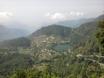 Village. Middle earth Uttrakhand india Stock Images